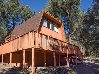 1970s Gambrel Cabin in the Los Padres National Forest