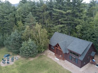Gorgeous Chalet near Whiteface Skiing, Hiking, Fishing & ADK Wildlife Refuge