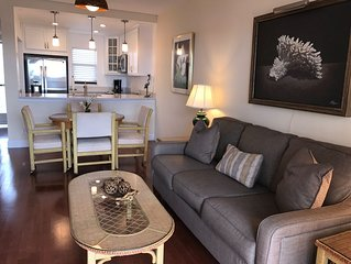 Large 1 Bedroom w/ New Kitchen Overlooks Naples Bay-Walk to 5th Ave & the Beach!
