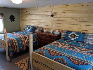 Finley's Riverside Cabins | Cabin #D