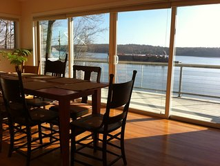 Magnificent Hudson River Views on Waterfront Ulster Park Property