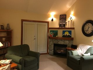 2 bed/2 bath-Ski In/Out and very close walk to Village