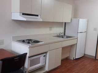 Fully Furnished Studio Weekly-Monthly