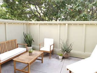 Bright, Ground Level, Corner unit with Private lanai, on East Course!  Updated!
