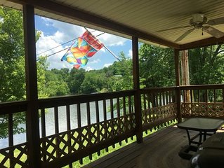 KENTUCKY BOURBON TRAIL LAKEHOUSE WITH DOCK no cleaning fees * contactless entry