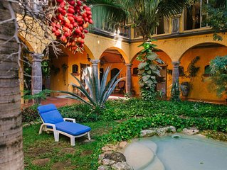 Hacienda - Hidden Gem in Jungle w/ Waterfall Pool & 5 min. Xcaret WaterPark!