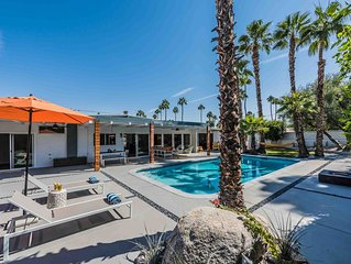 Central Palm Springs Mid Century Pool Home
