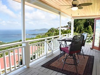 Charming Caribbean Cottage With Panoramic Ocean Views