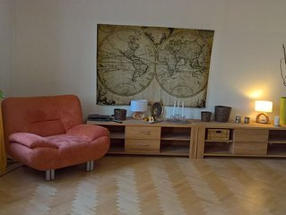BRIGHT, FULLY FURNISHED APARTMENT IN HISTORICAL VILLA WITH GARDEN