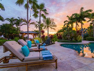 Grand Alii Estate - Sleeps 10/ Private Pool/ Private Tennis Court/ Ocean Views