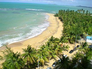 Awesome View! Beachfront Playa Azul Tower 1 in Luquillo