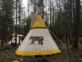 Ten Bear , Tipi # 2