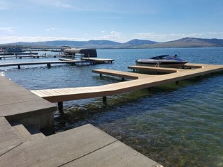Remodeled home steps from the water and your brand new dock!