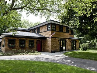 Beautiful Shingled Contemporary Home in Jamestown