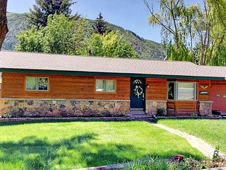 Eagle's Nest- 4BR Family Friendly Home with ac in Glenwood Springs, Pmt #18-058