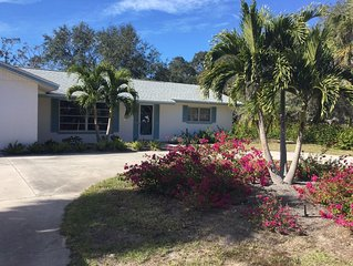 Charming vacation home close to Nokomis beach,Casey Key,Venice