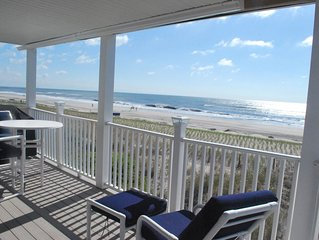 Views!  Family friendly oceanfront home with 180 degree ocean views.
