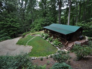 Private Secluded Cabin with Hot Tub