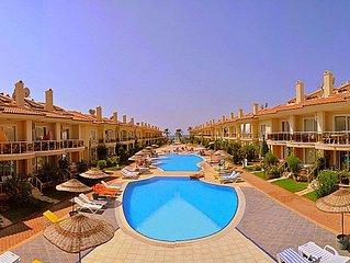 Rental 1+1 Aparts in Fethiye Calis in a Complex Shared Pool Aqua 19. fully furni