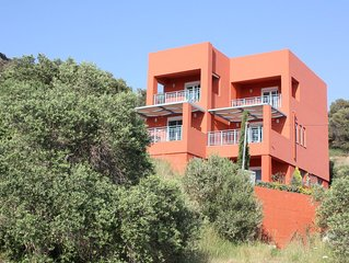 Ferienhaus in idyllischer Umgebung nahe zum Strand, Meerblick, Wifi | Plakias, K