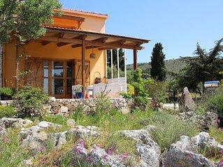 Ländliche Idylle mit Meerblick - Freistehendes Ferienhaus Kambia, Kreta