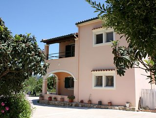 Ruhe und Natur genießen! Großes Ferienhaus im Grünen | Aghios Mattaios, Korfu