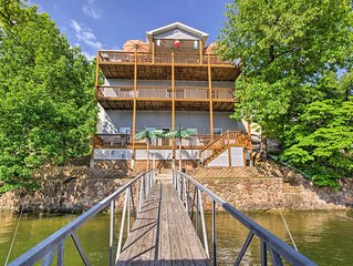 Sale $295 Large Lakefront Home Private Dock In Cove Sleeps 23