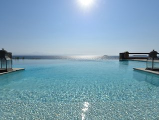Villa With Swimming Pool In Front Of Almost Private Beach