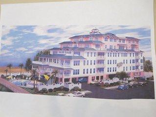 Ocean front building unit 302