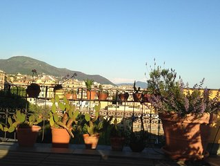 panoramic roof terrace with pergola: Genua Domus penthouse 010025-LT-1478