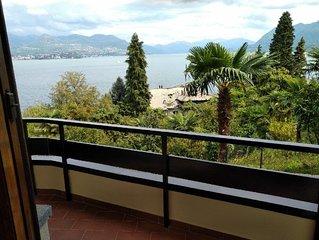 Vista Lago Due au centre Stresa, avec terrasse et vue sublime du lac et WiFi