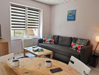 Appartement T2 Saint-Enogat 500m plage