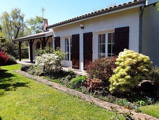 Villa Cestas Gazinet, proche Bordeaux et Arcachon toutes commodites