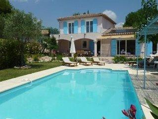 Belle Villa 190m2, Jardin 2700m2, Plein Sud, Calme, Piscine Privée