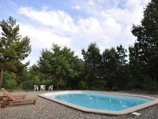 Maison de charme au calme avec une vue magnifique et une piscine privative