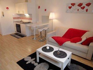 Gérardmer, chaleureux appartement F2 duplex en plein centre ville