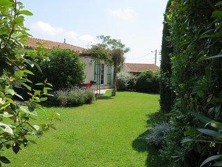 Maison indépendante avec jardin et piscine
