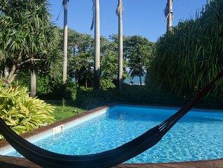 VILLA DEGAS entre Deshaies et Ste Rose  ,face à la mer avec piscine privative
