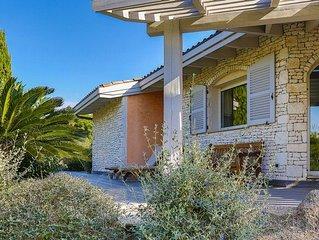 Location villa classée 4 étoiles, spacieuse et lumineuse