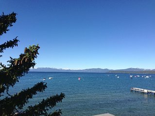 Lake Front Town Home With Private Beach Outside Your Door!! Summer Weeks Avail.