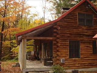Romantic Log Cabin in Jackson, New Hampshire