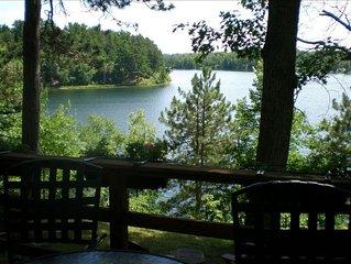 Charming Lake Home on Ox Lake Plus Dock on Whitefish Chain