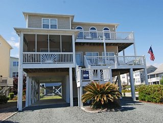 Perfect Family Beach House-Linen Ready-Very Close To Beach - 5br/5ba Sleeps 14