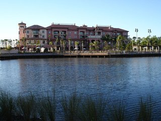 Bonnet  creek is a resort inside the Disney property itself. Beautiful resort!!!