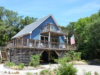 4 Bedroom 2 Bath Cottage, Quiet beaches of Southern Shores