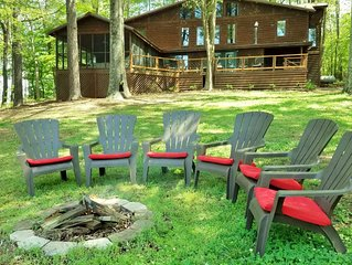 Taylormade Cabin Rustic lakefront cabin nestled among the trees recent updates