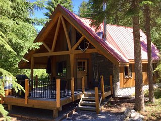 Luxury Cabin with Private Hot Tub Located In The Center Of All National Parks!