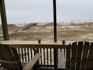 OCEANFRONT! 'Blue View' 2 Night Minimum! No Crowds! Rodanthe. Rate Specials!