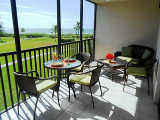 True Gulf Views! Bldg 1 steps away from beach & pool. K,Q & T