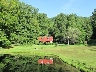Jimbo's Farm - 53 Acre Retreat with Trout Pond and Stream
